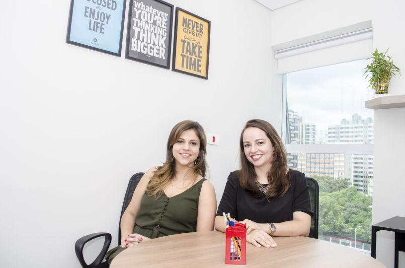 Michelle Fonseca e Simone Moran Leite